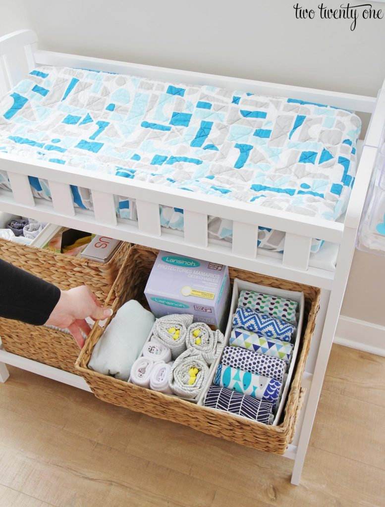 Image of: Changing Table Organization