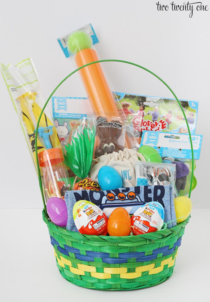 boy toddler easter basket