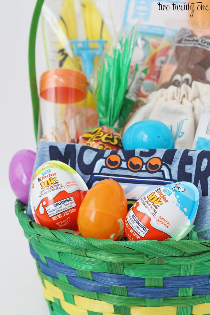 Easter basket ideas for toddlers it took me less than 5 minutes to put the easter basket together and my boy easter basket totaled out around 22 negle Images