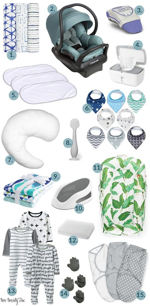 Baby Essentials! Must have items for baby!