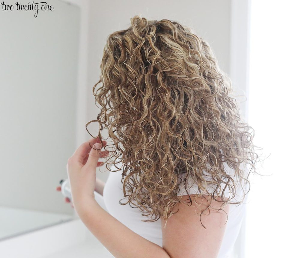 Tips for styling curly hair!