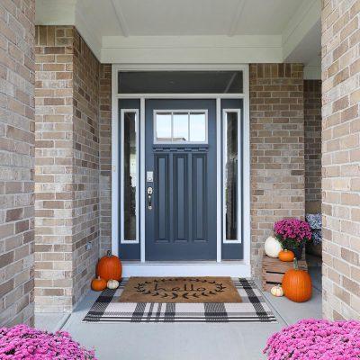 Fall Front Porch & A Little DIY
