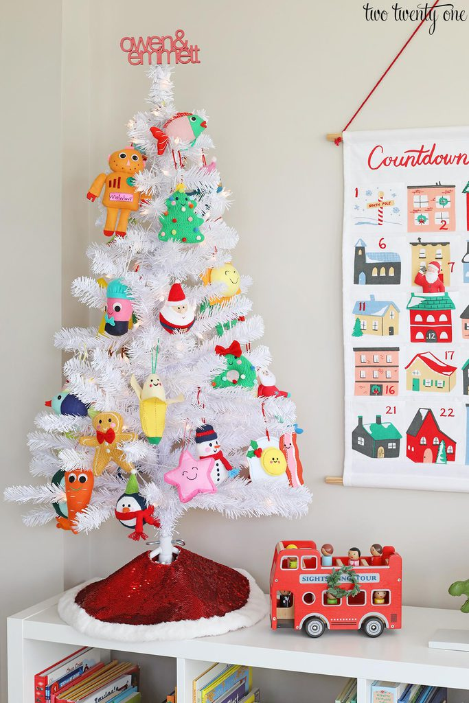 playroom christmas tree