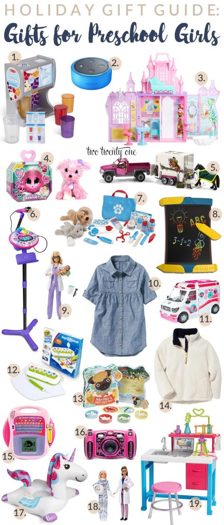 Gifts for 4 year old girl