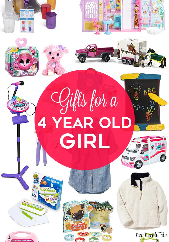 Gifts for a 4 year old girl