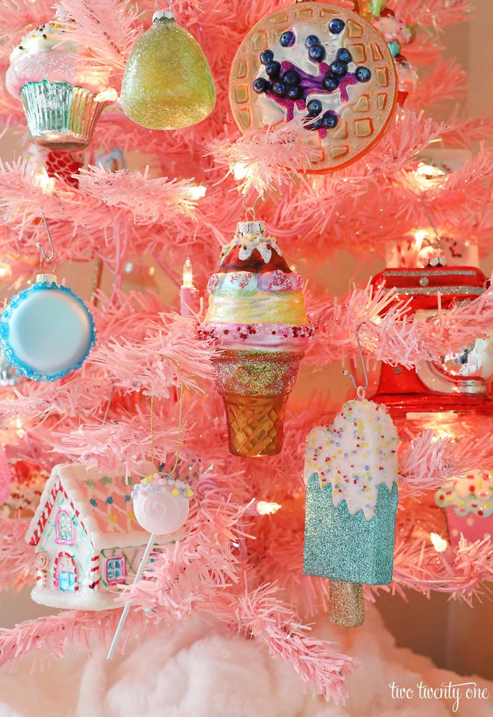 dessert christmas ornaments