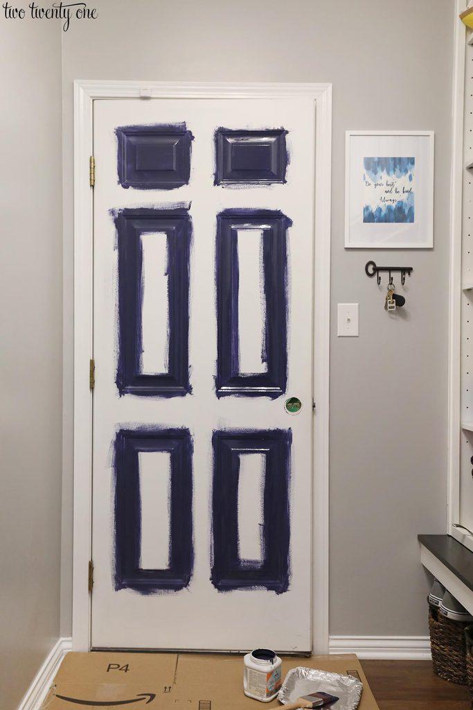 paint metal door