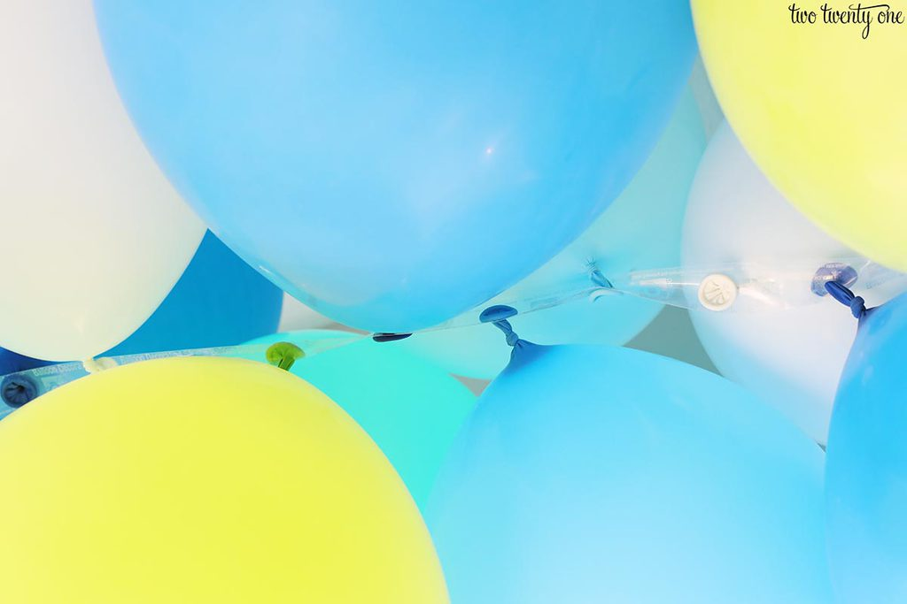 balloons and balloon tape