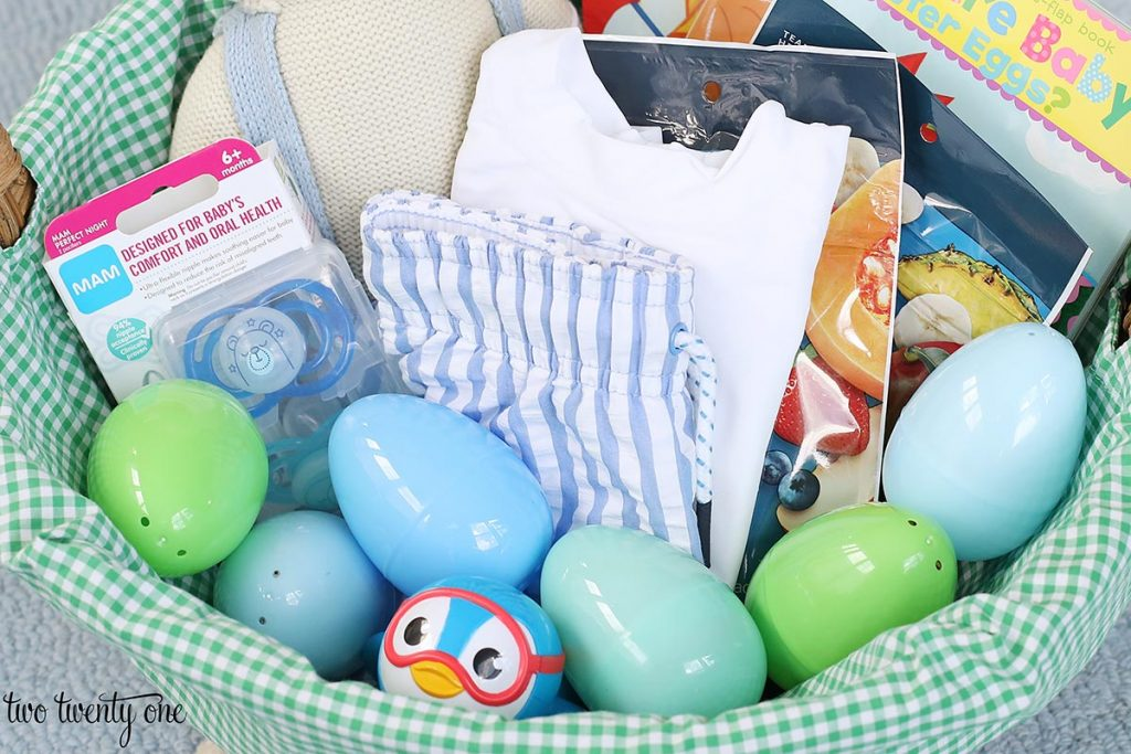 one year old easter basket