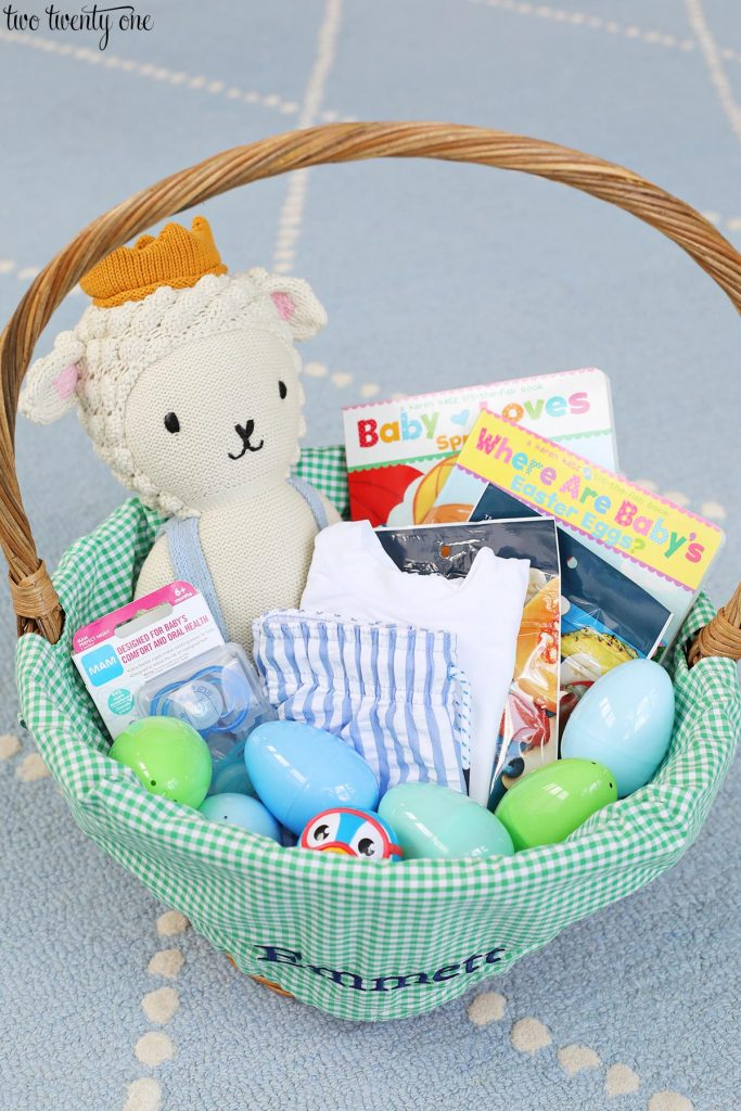 Easter Basket for One Year Old