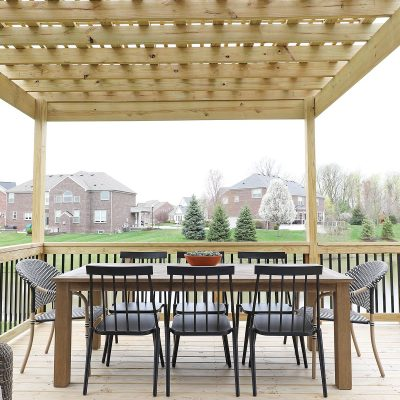 Deck Dining Table and Chairs