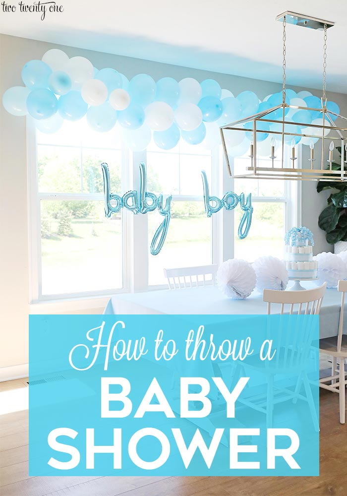 Tips and tricks for throwing a baby shower!