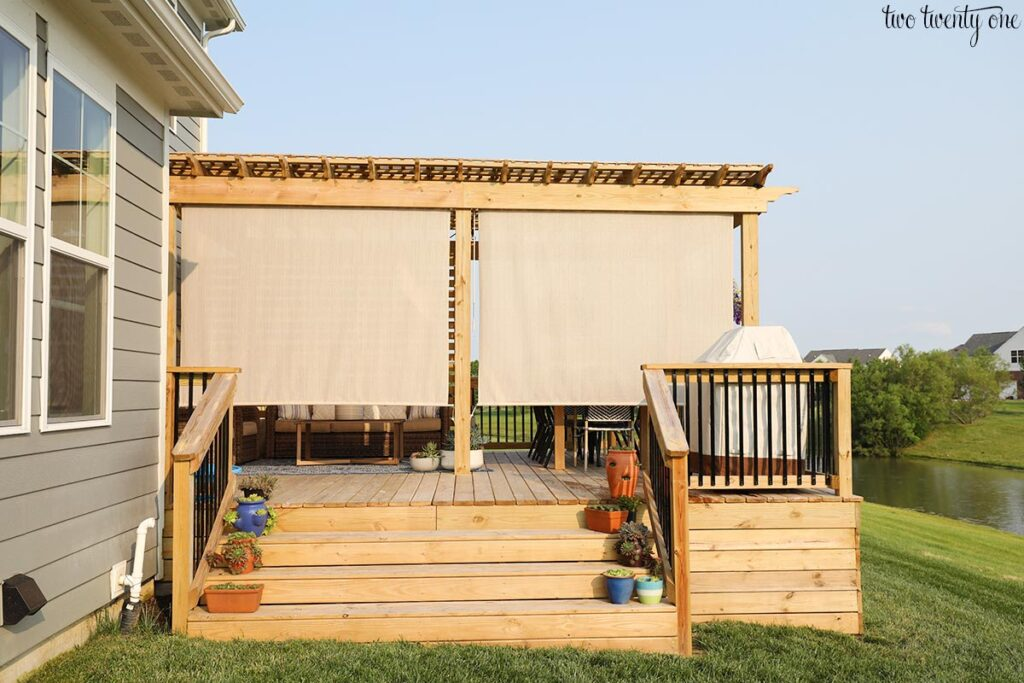 deck outdoor shades