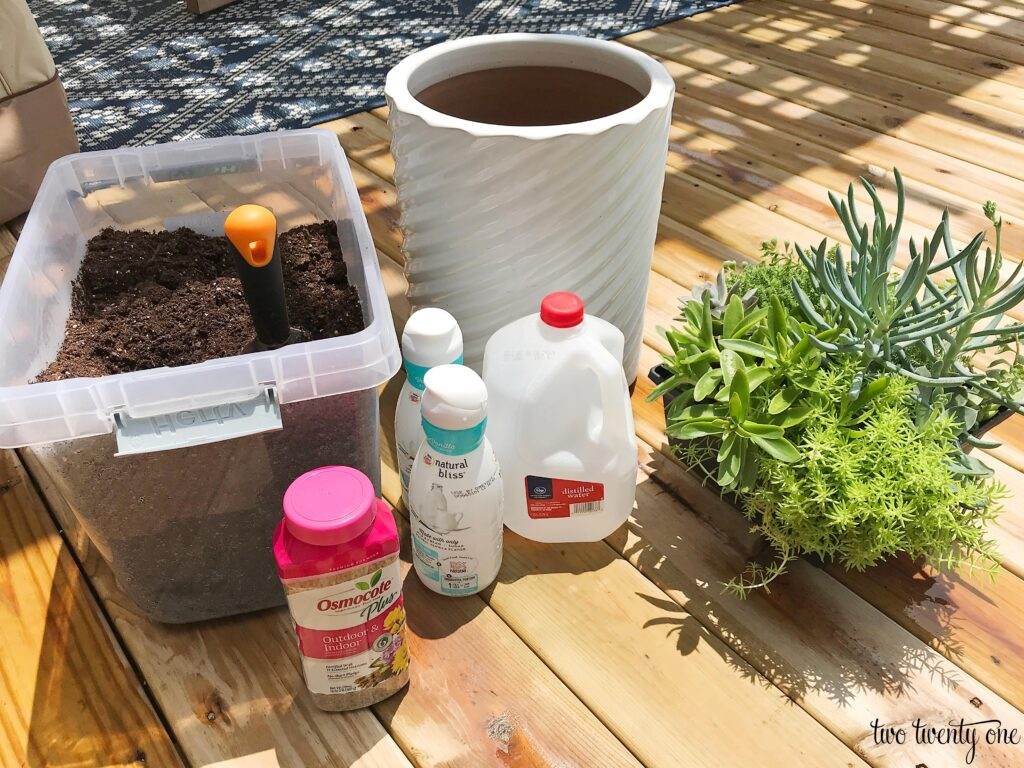 planter potting supplies