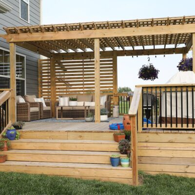 Deck and Pergola Color Options