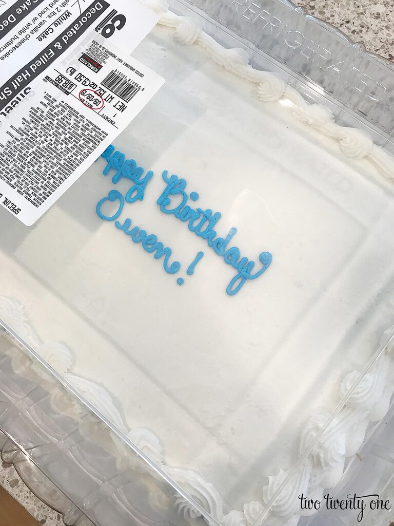 Costco cake hack
