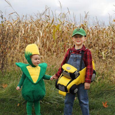 Farmer and Corn Costumes
