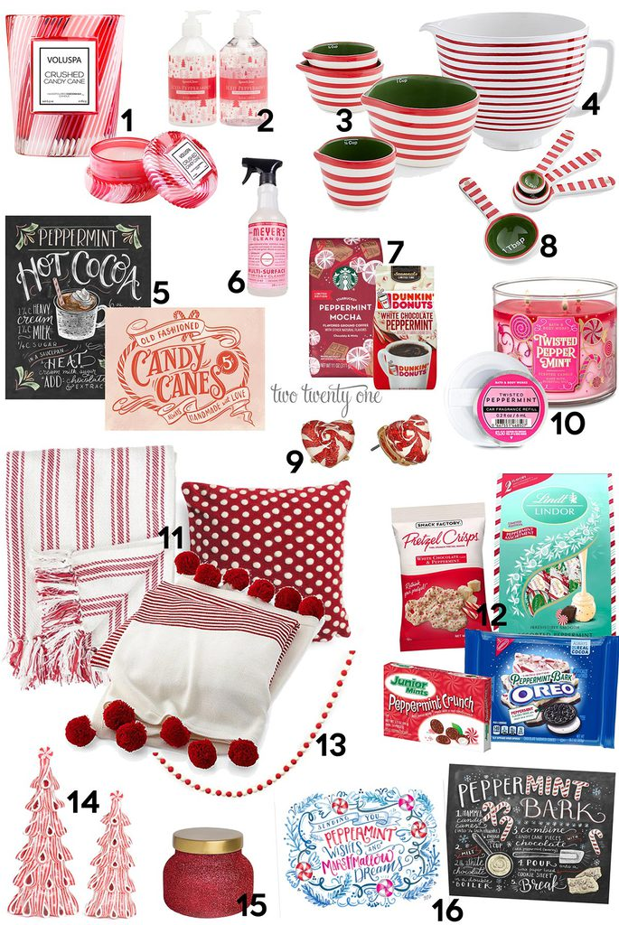 Favorite Peppermint Products