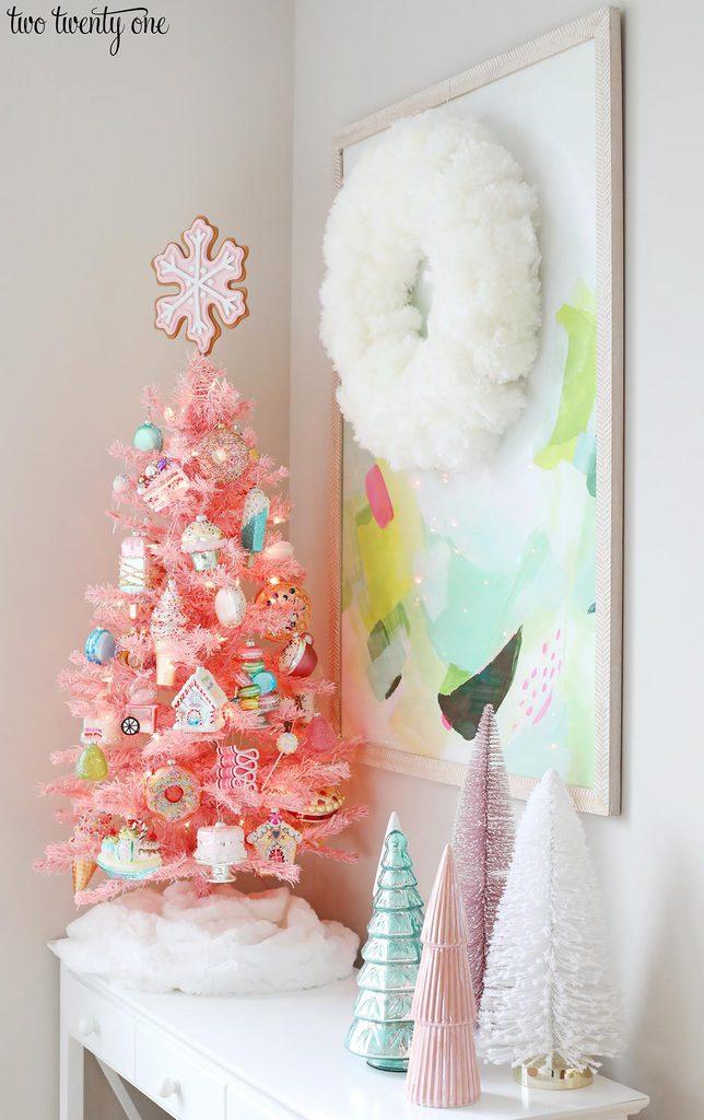 pink dessert tree