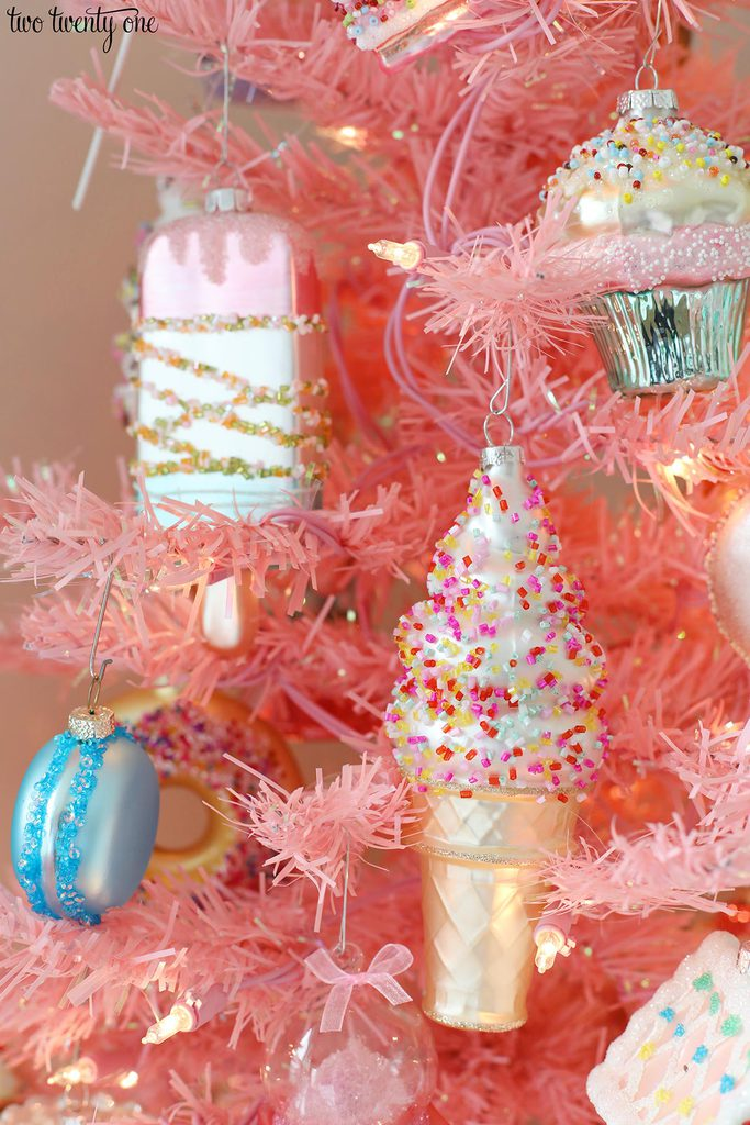sweet treat ornaments