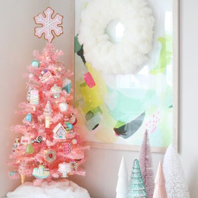 Sweet Treats Pink Christmas Tree