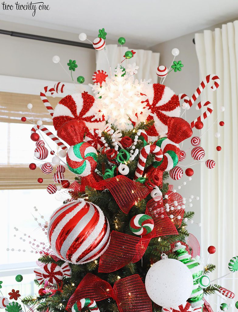 Peppermint Christmas Tree