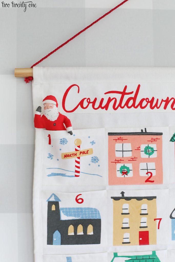 countdown to christmas calendar
