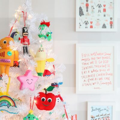 kid christmas tree
