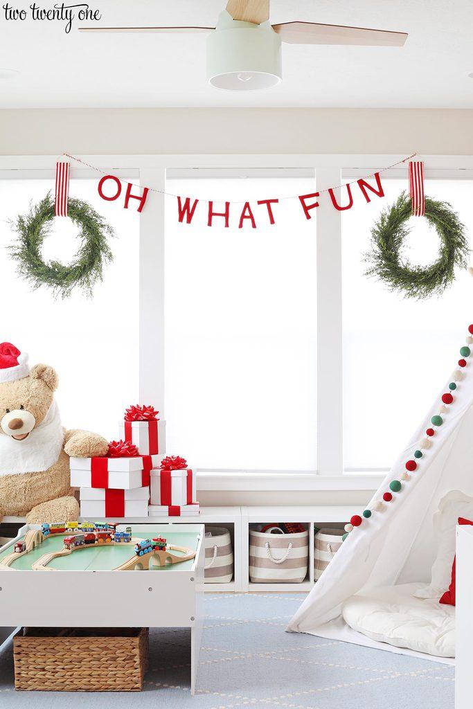 Holiday Playroom