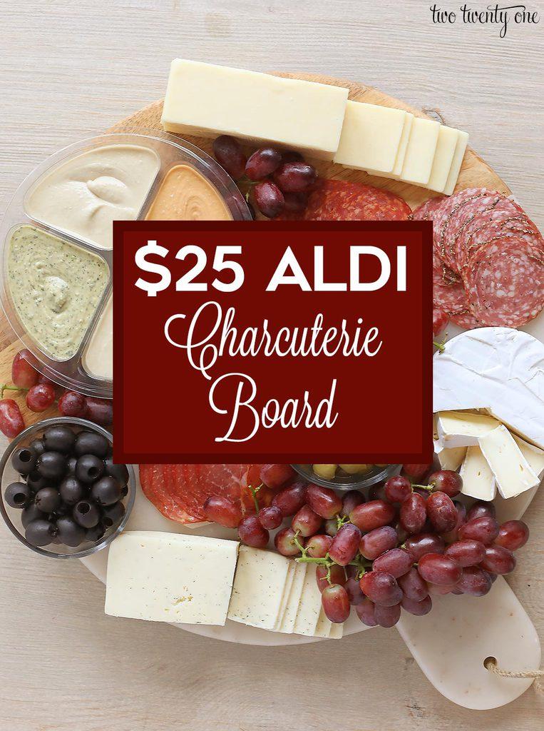 $25 Aldi Charcuterie Board