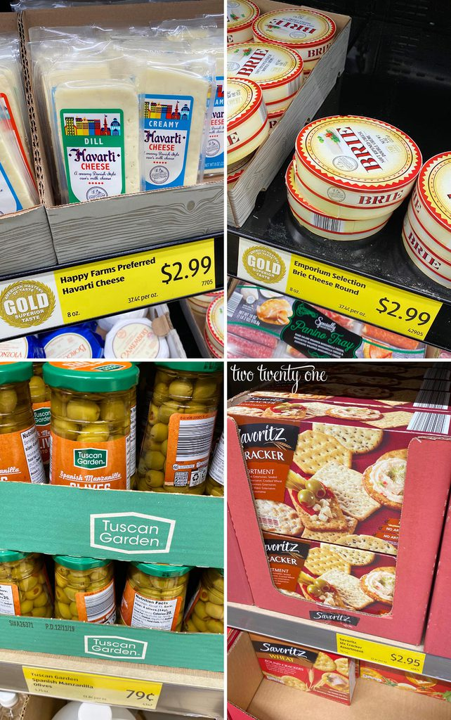 Aldi Meat and Cheese Board Products