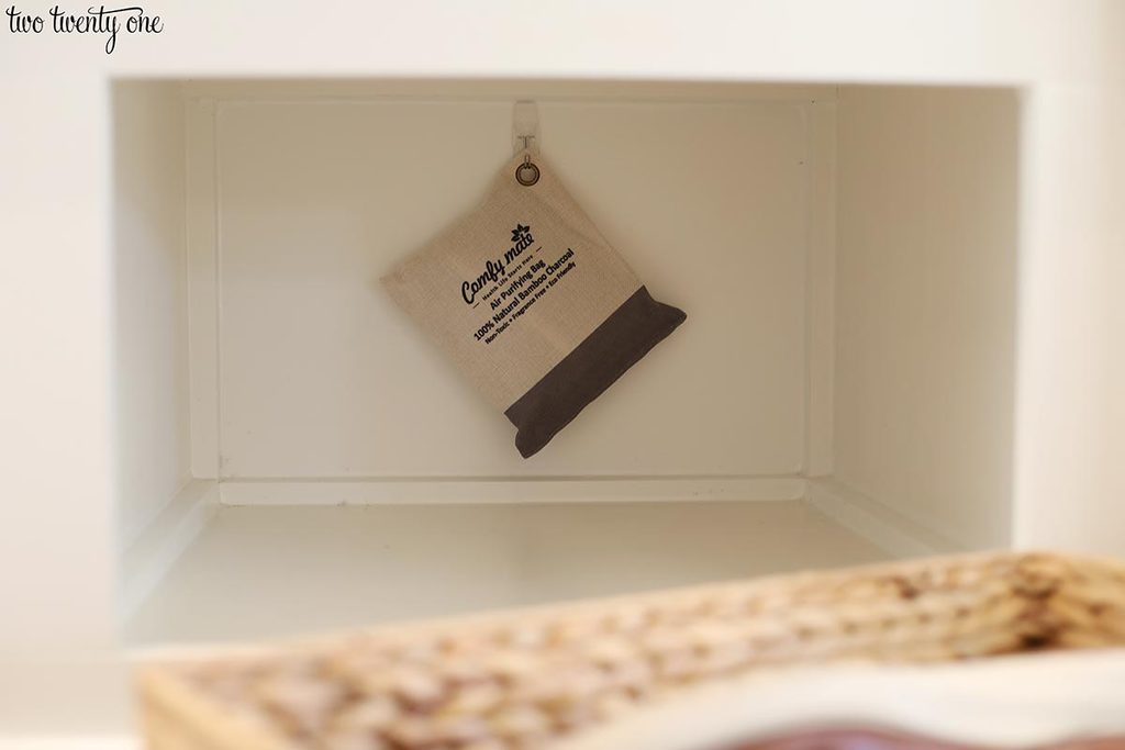 keep mudroom smelling fresh