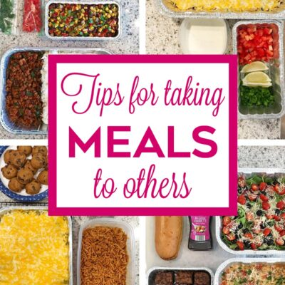 Tips for Taking a Meal to Others