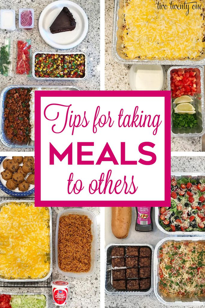 Tips for Taking Meals to Others
