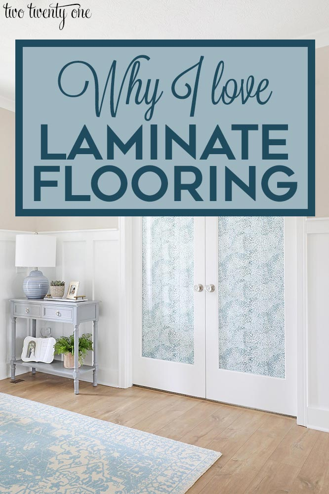 Why I love laminate wood flooring