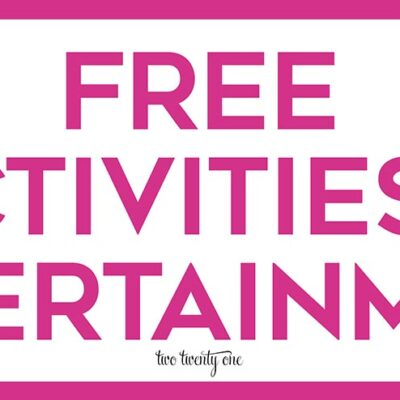 Free Activities and Entertainment