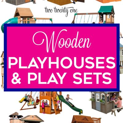 Wooden Outdoor Play Sets, Playhouses, and More