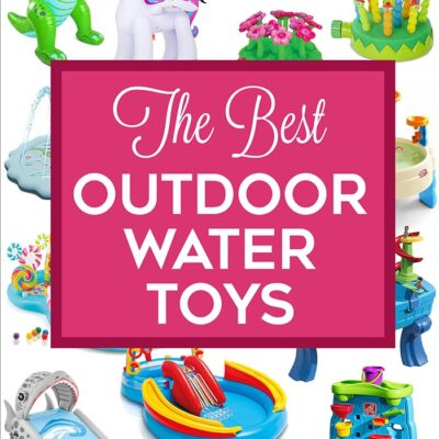 The Best Outdoor Water Toys