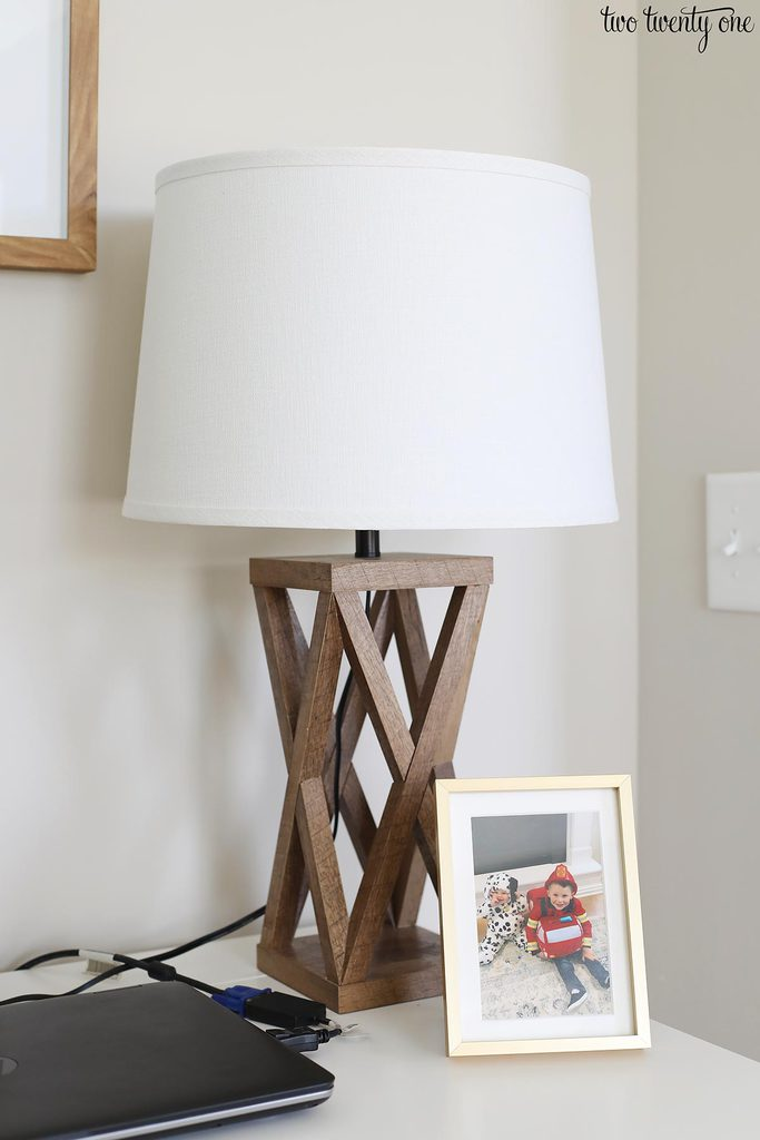 better homes & gardens at walmart wooden lamp