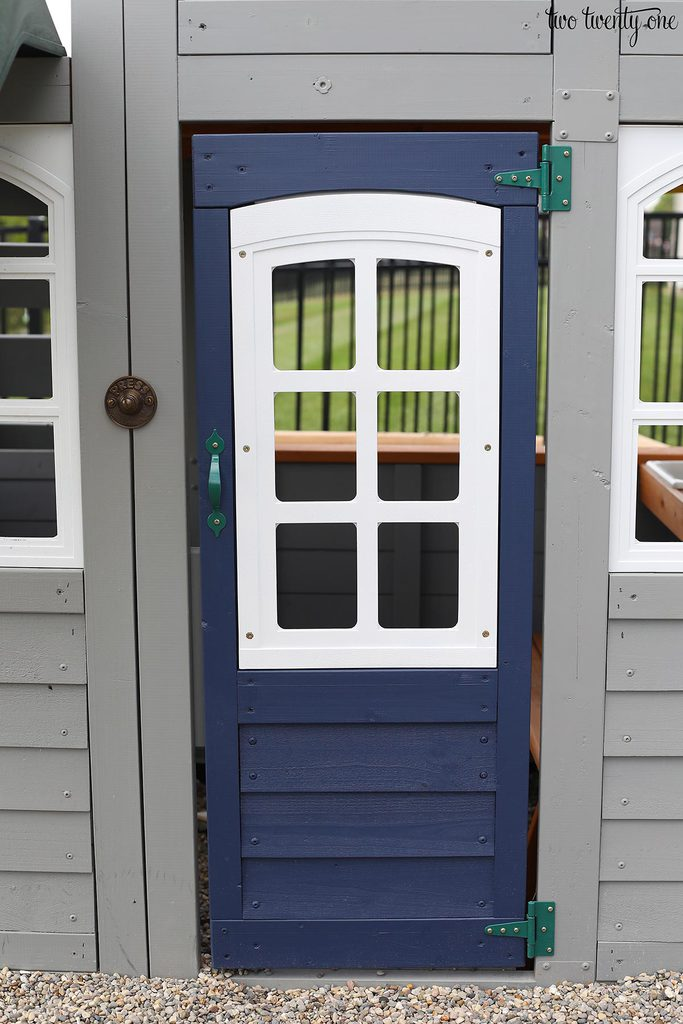 paint playset door