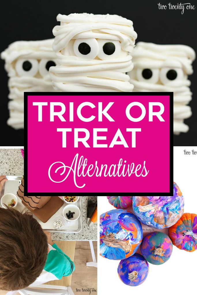 Trick or Treat Alternatives