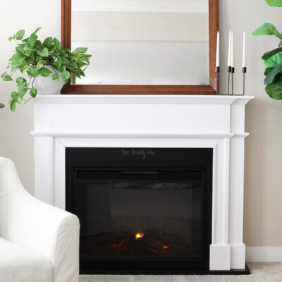 Real Flame Harlan Grand fireplace