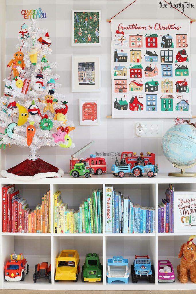 Christmas kids room