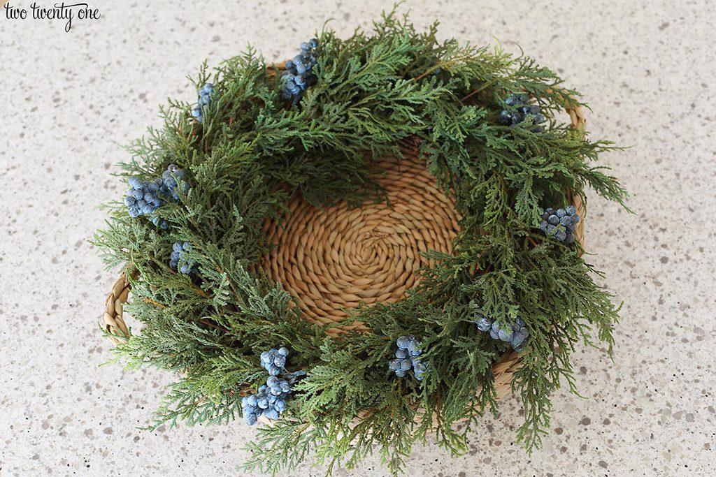 wreath centerpiece