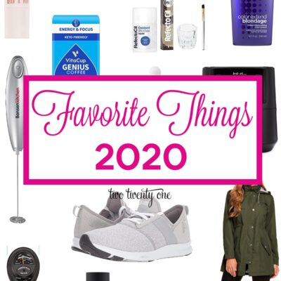 Favorite Things 2020