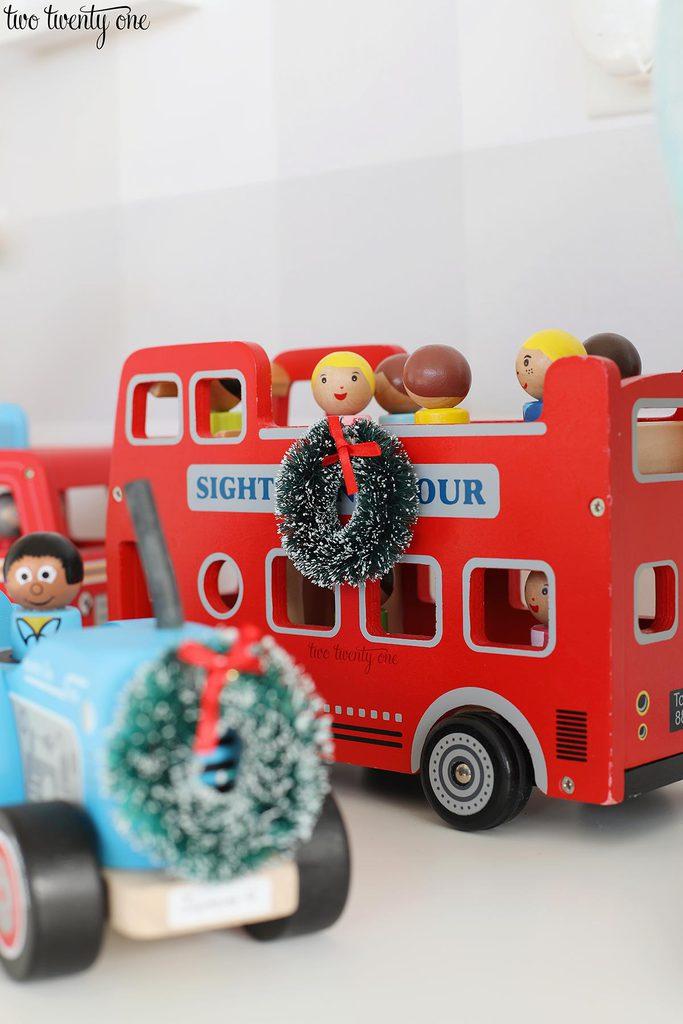 Imagination Generation double decker bus