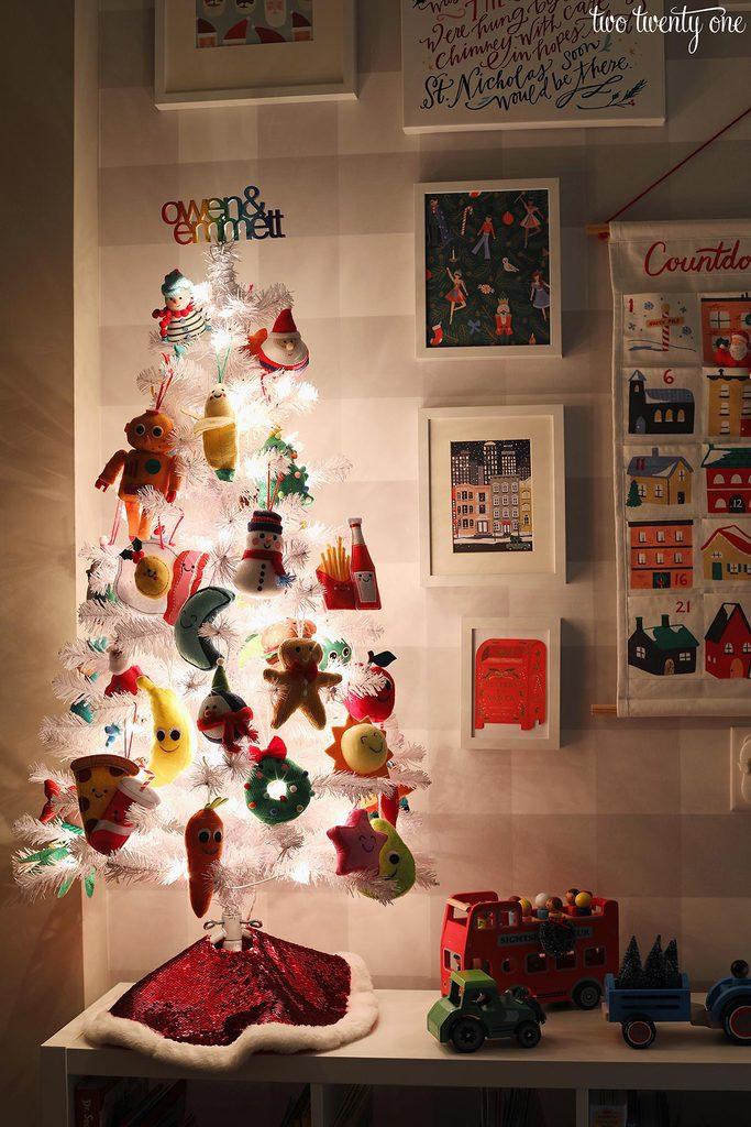 kid christmas tree