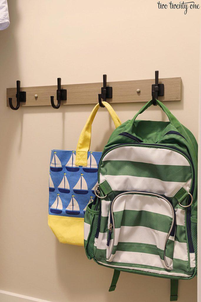 kid closet coat rack