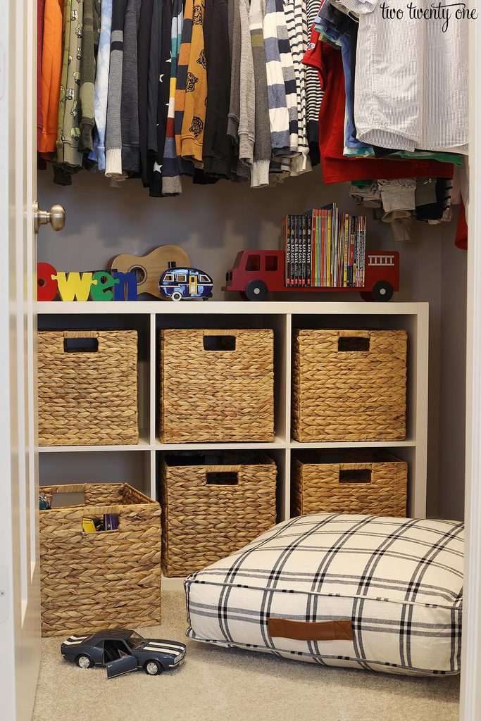 little boy closet