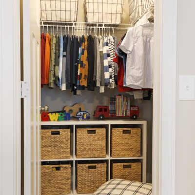 Tips for Creating an Organized Kids Closet